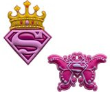 A product thumbnail of  Supergirl Crown & Asst Supergirl Butterfly 2 Pack
