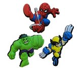 A product thumbnail of  Superhero Squad -3pk  (Spiderman Swinging, Wolverine, Hulk)