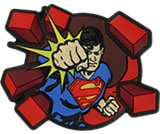 Superman Punching Bricks