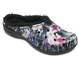 Women's Crocs Freesail Graphic Fuzz Lined Clog