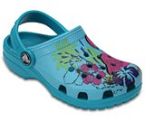 classic  graphic clog kids