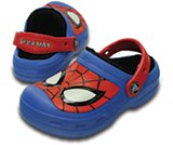Kids' Creative Crocs Spiderman Fuzz Lined Clog