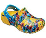 Kids' Crocs Fun Lab Sesame Street™ Clogs