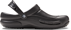 Crocs Bistro Clog in Black.