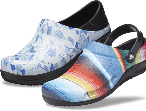 Bistro Graphic Clogs.
