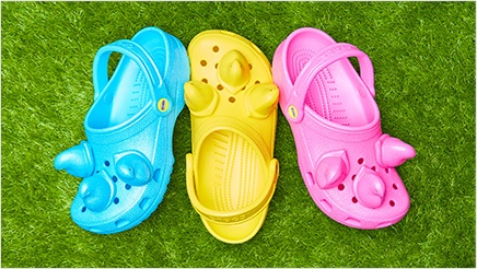 Peeps x Crocs Classic Clogs collection.