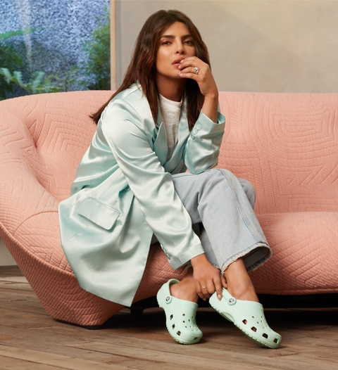 Priyanka Chopra Jonas in Classic Clogs.