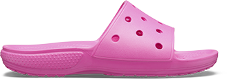 Crocs Classic Slide in New Mint