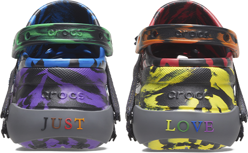 Just Love designed by Ruby Rose Crocs Classic Bae Clog.