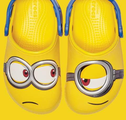 Crocs Fun Lab Minion Clogs.