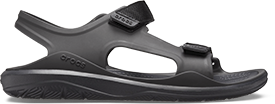 Black swiftwater sandal.