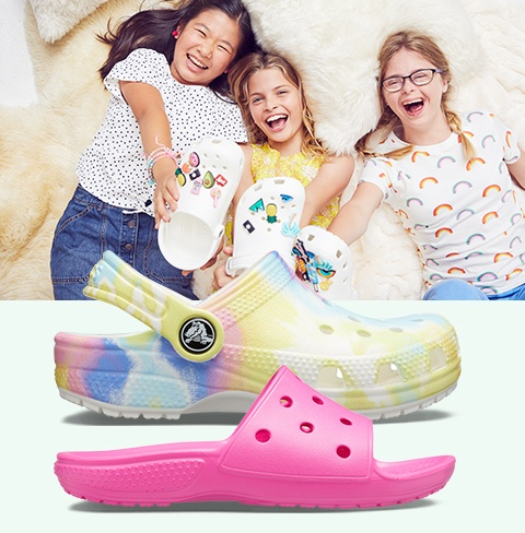 Kids' Classic Clogs Summer Colors.