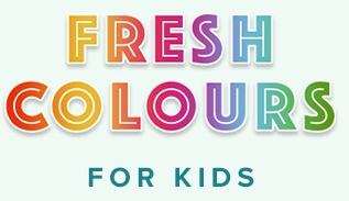 Fresh Colors, for kids.