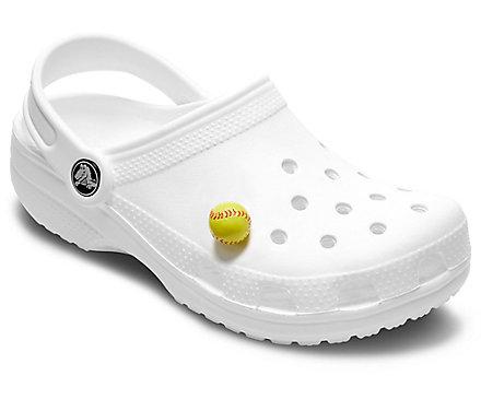 7a0ff62b0 3-D Softball Jibbitz™ Shoe Charm – Crocs