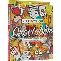 Deals on Crocs Croc Day Jibbitz Calendar w/50 Jibbitz