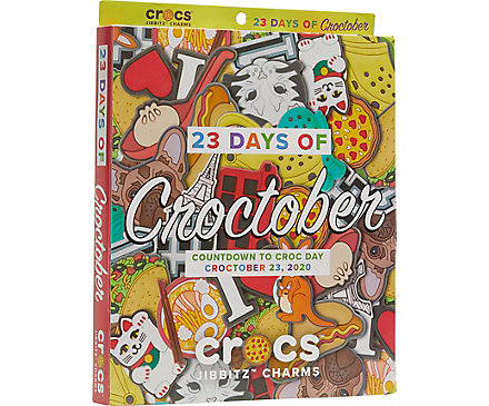 Croc Day Jibbitz Calendar