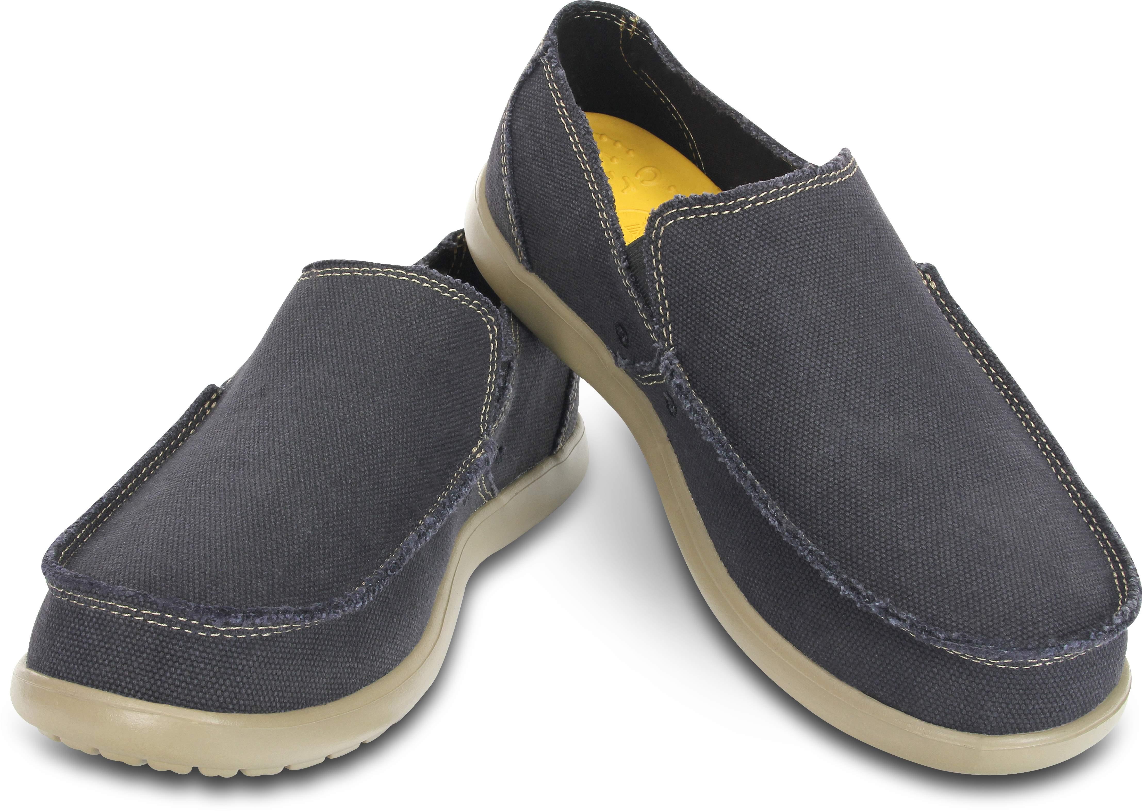 【クロックス公式】 メンズ サンタクルーズ スリップオン Men's Santa Cruz Slip-On メンズ、紳士、男性用 ブラック/黒 25cm,26cm,27cm,28cm,29cm loafer ローファー 靴