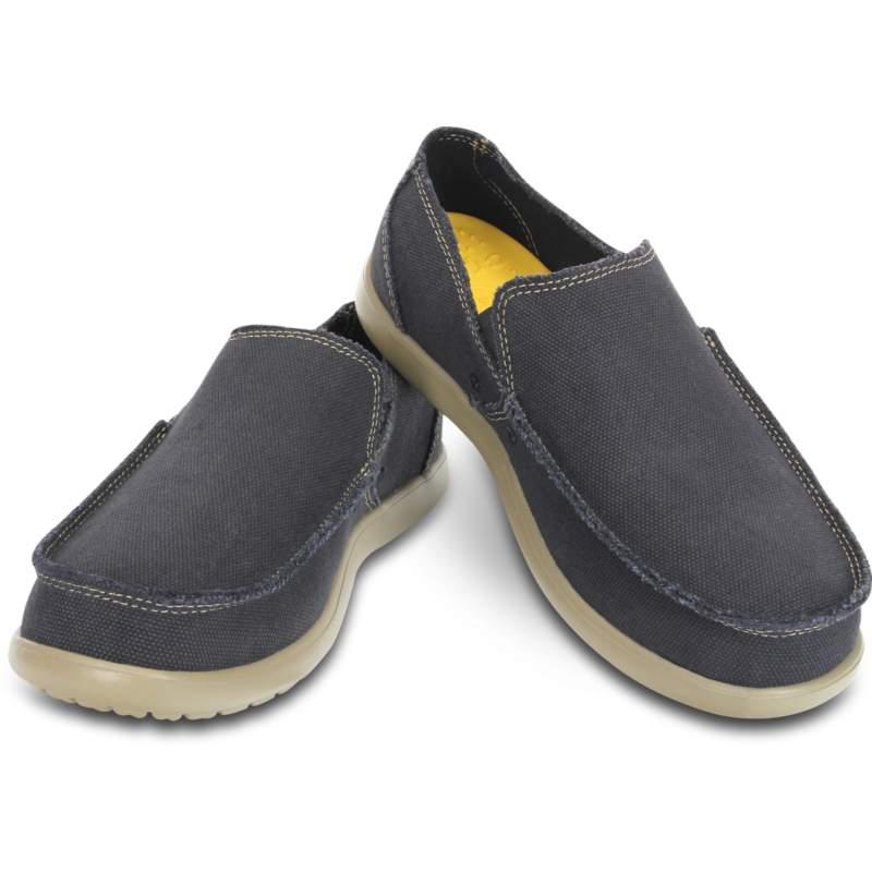 【クロックス公式】 メンズ サンタクルーズ スリップオン Men's Santa Cruz Slip-On メンズ、紳士、男性用 ブラック/黒 25cm,26cm,27cm,28cm,29cm loafer ローファー 靴 10%OFF