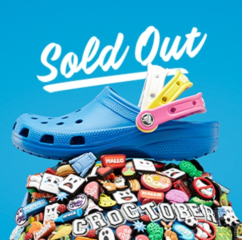 sold out, Croctober Pizzaslime Classic Clog.