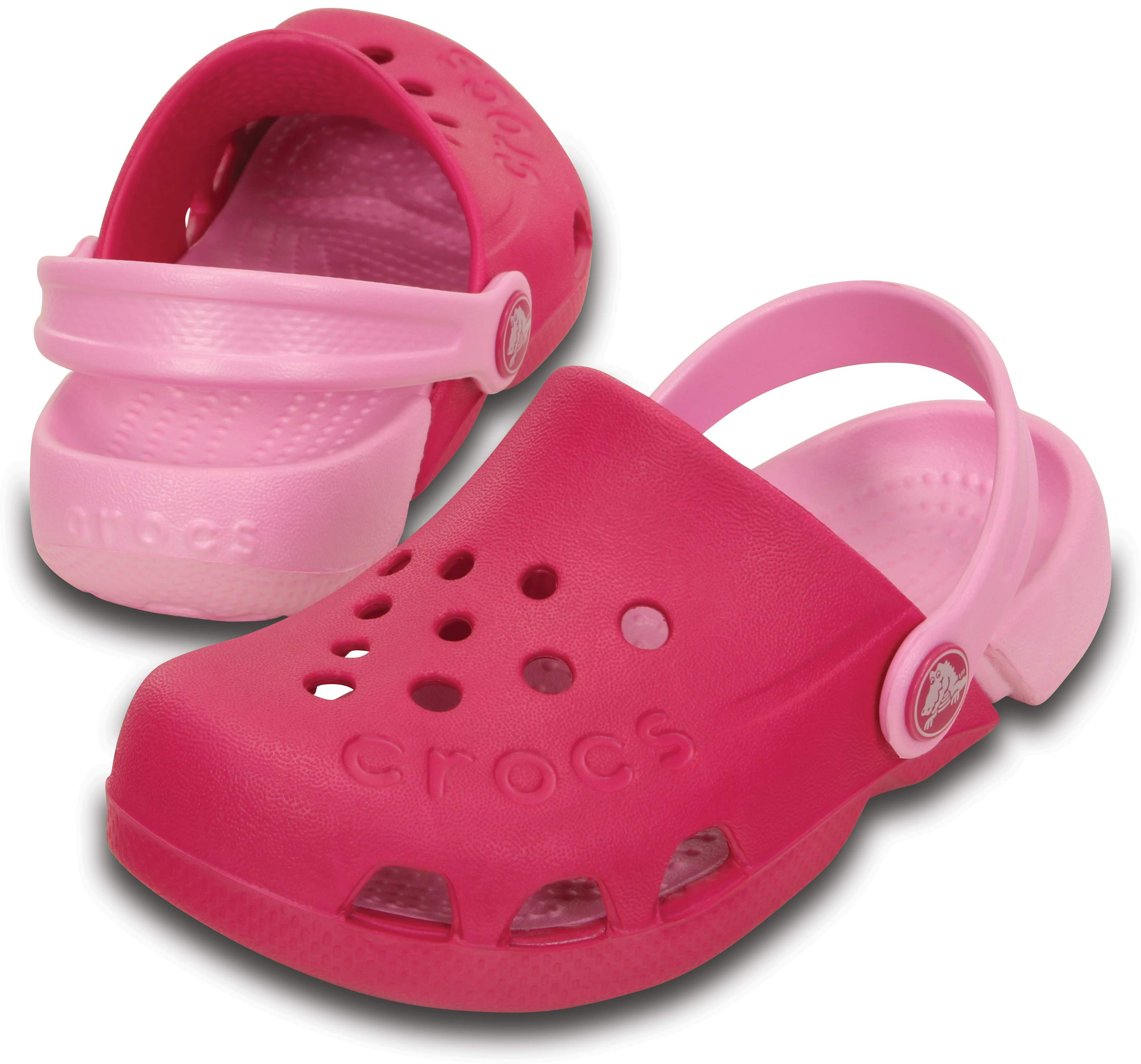 Crocs Baby Electro Clogs Shoes Mules Slippers Sandals Slip On Colour Contrasting