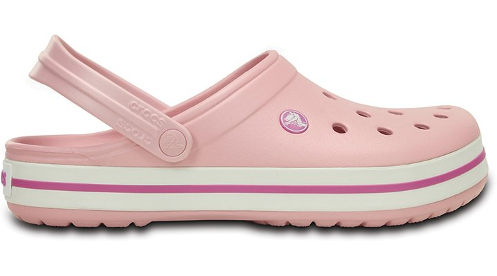 Crocs Crocband, Size: 4 M, Pearl Pink/Wild Orchid