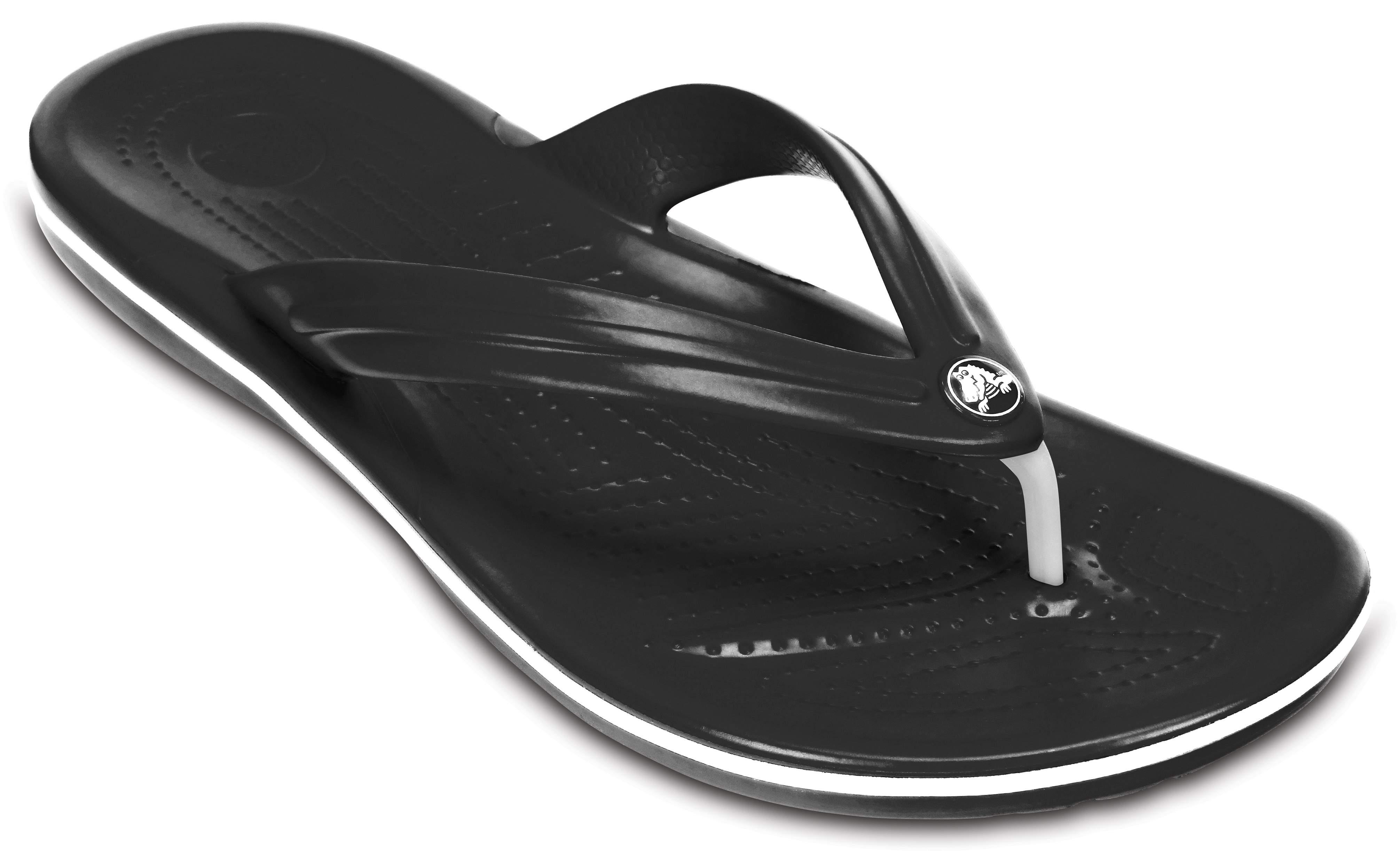 Crocband Flip Black Crocs Chaussures