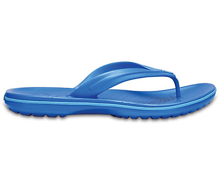 crocs Crocband Flip, Unisex - Erwachsene Zehentrenner, Blau (Electric Blue), 36/37 EU