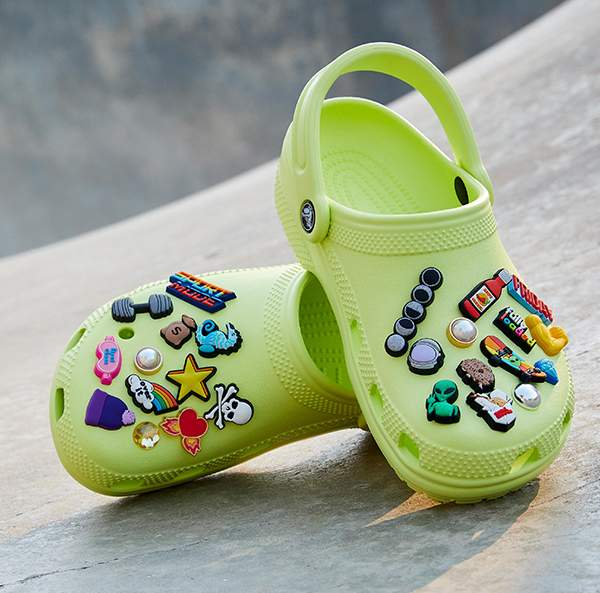Classic Clog in  Lime Punch.