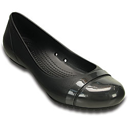 Crocs Womens Cap Toe Ballet Flat