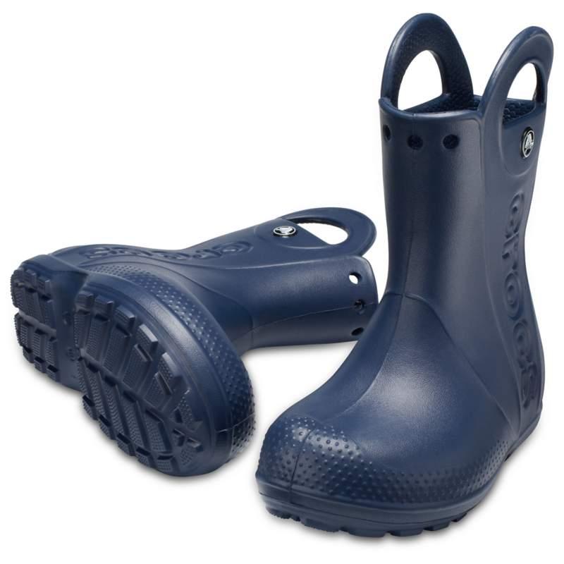 クロックス 公式オンラインショップ【クロックス公式】 ハンドル イット レイン ブーツ キッズ Kids' Handle It Rain Boot ユニセックス、キッズ、子供用、男の子、女の子、男女兼用 ブルー/青 14cm,15cm,15.5cm,16.5cm,17.5cm,18cm,18.5cm,19cm,19.5cm,20cm,21cm boot ブーツ