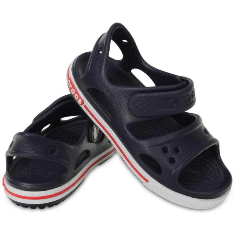 [クロックス公式] サンダル クロックバンド 2.0 サンダル PS ボーイズ、キッズ、子供用、男の子 ブルー/青 17.5cm Preschool Crocband II Sandal