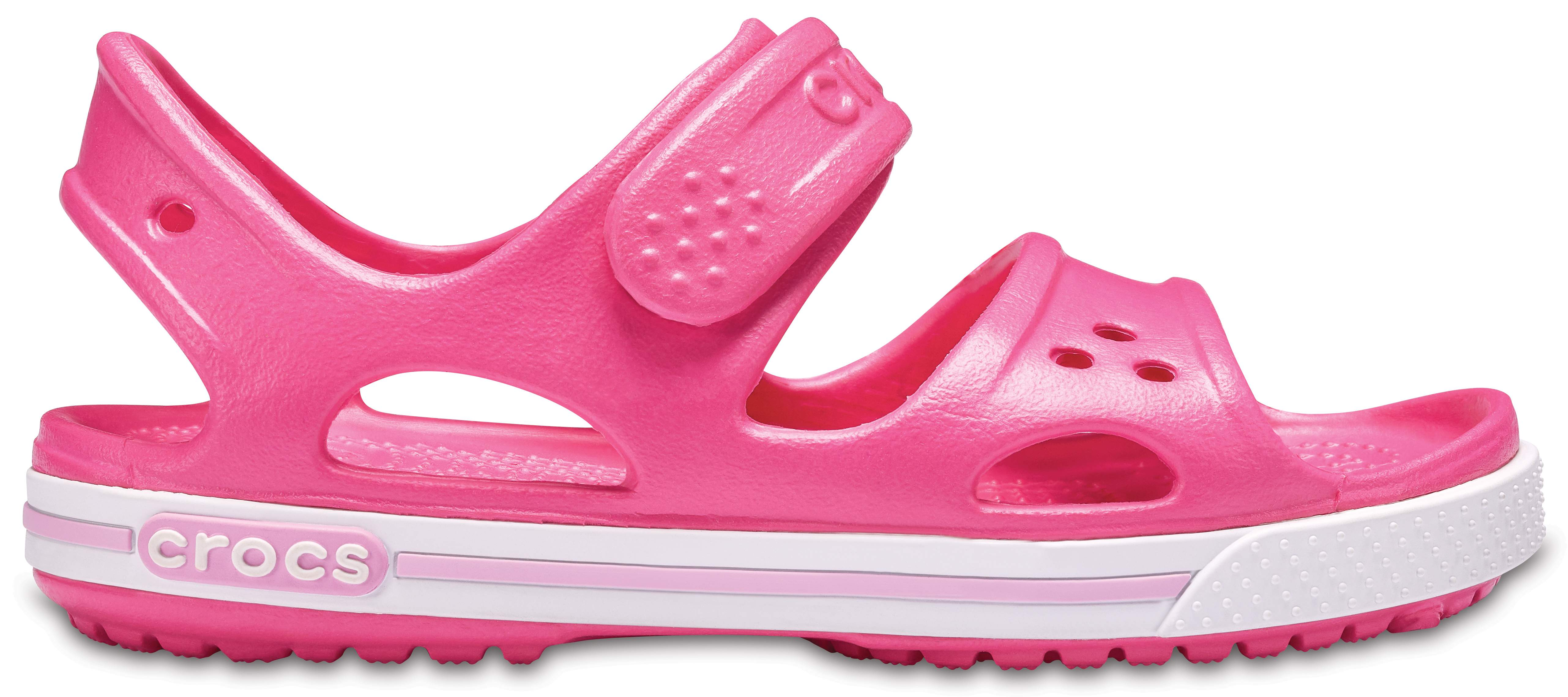 7 US Toddler Water Shoes Slip On Shoes for Boys and Girls Paradise Pink//C Crocs Kids Crocband II Sandal
