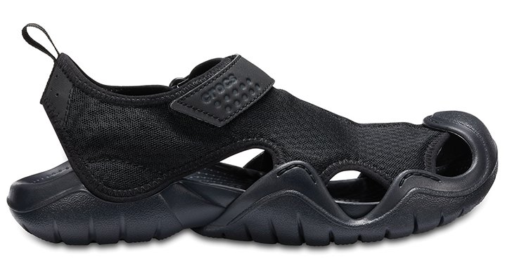 3edb9755487d Crocs 15041 Swiftwater Water Sandals Mens Black-060 14