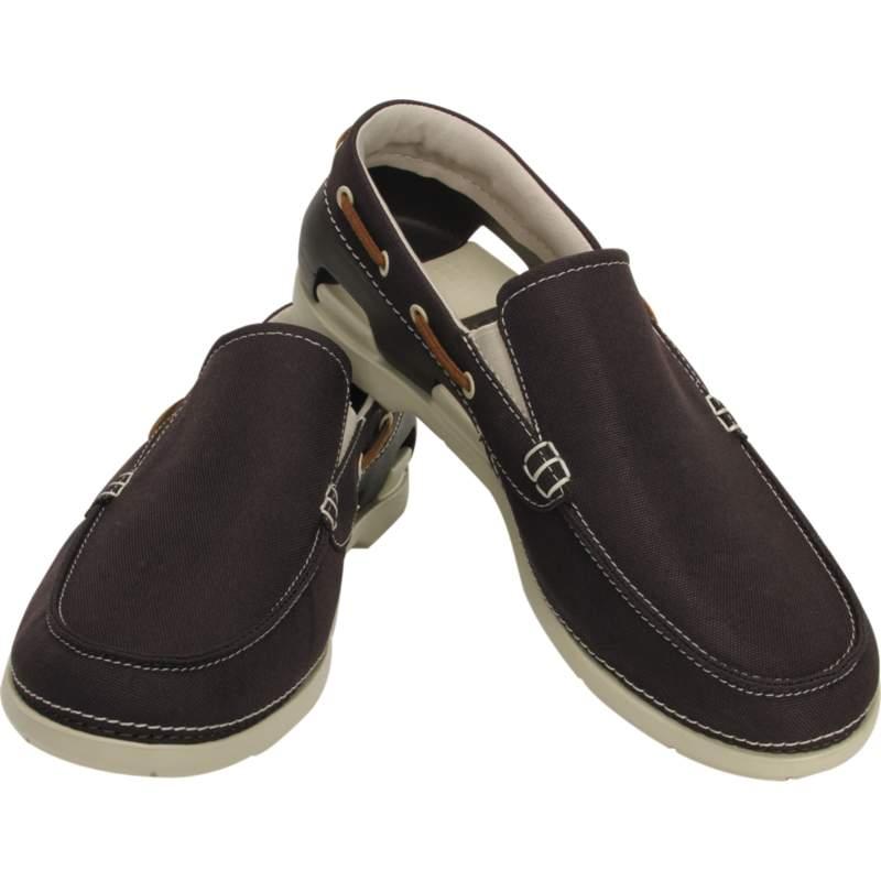 【クロックス公式】 ビーチライン ボート スリップオン メン Men's Beach Line Boat Slip-On メンズ、紳士、男性用 ブラウン/茶 25cm,26cm,27cm,28cm,29cm shoe 靴 シューズ 20%OFF