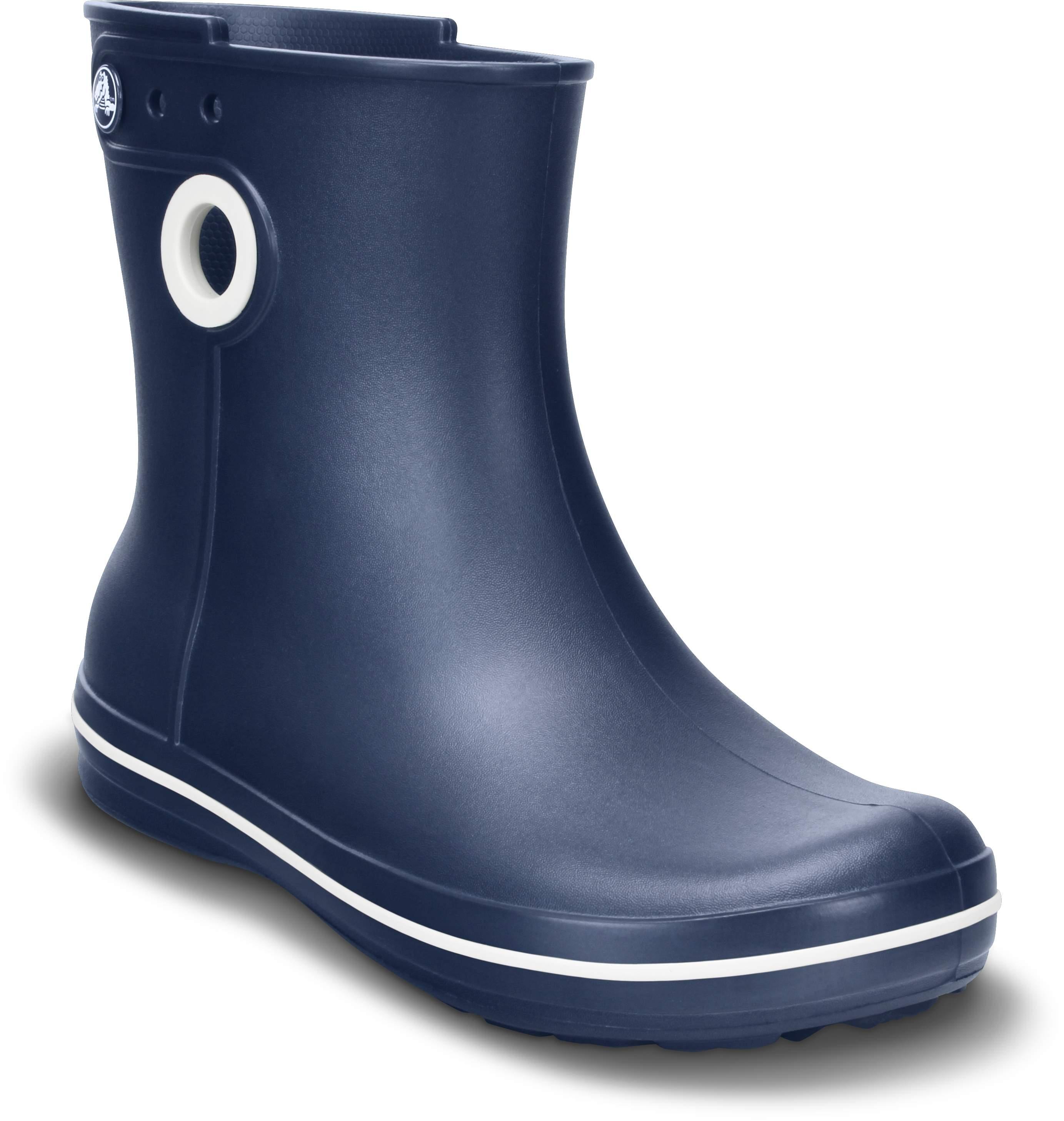 Crocs JAUNT - Bottes en caoutchouc bleu foncé