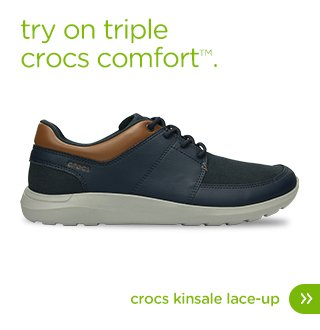 Try on triple crocs comfort™. Crocs Kinsale Lace-up