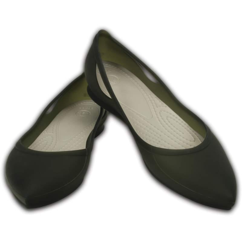 【クロックス公式】 クロックス リオ フラット ウィメン Women's Crocs Rio Flat ウィメンズ、レディース、女性用 ブラック/黒 21cm,22cm,23cm,24cm,25cm,26cm flat フラットシューズ バレエシューズ ぺたんこシューズ
