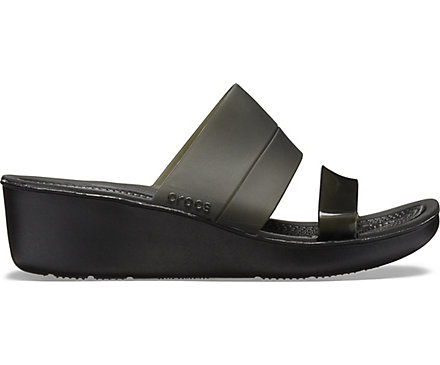 c29ab57bcf7 Women s Color-Block Mini Wedge - Crocs