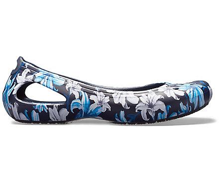 43f6264cef2aad Women s Kadee Graphic Flat - Crocs
