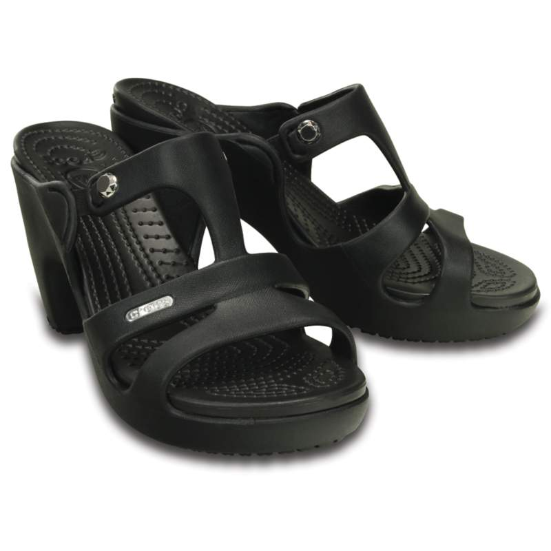 【クロックス公式】 サイプラス 5.0 ヒール ウィメン Women's Cyprus V Heel ウィメンズ、レディース、女性用 ブラック/黒 21cm,22cm,23cm,24cm,25cm heel ヒール パンプス ミュール