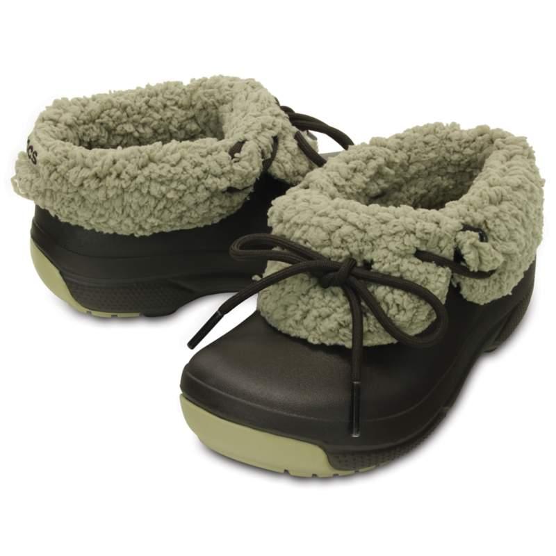 【クロックス公式】 ブリッツェン ラックス コンバーチブル クロッグ キッズ Kids' Blitzen Luxe Convertible Clog ユニセックス、キッズ、子供用、男の子、女の子、男女兼用 ブラウン/茶 14cm,15.5cm,18.5cm,19.5cm,20cm shoe 靴 シューズ 36%OFF
