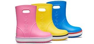 bottes pluie enfants crocs