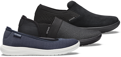 Women's Crocs Reviva™ Flat & Women's Crocs Reviva™ Slip-On & Men's Crocs Reviva™ Suede Slip-On