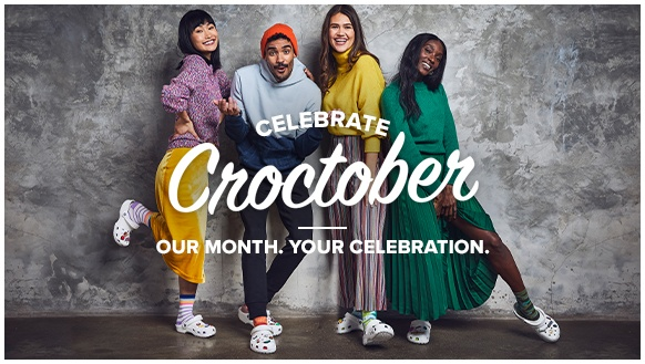 Celebrate Croctober, our month, your celebration.