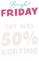 Bright Friday, up to 50% off.