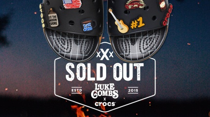 Luke Combs Slide Sold Out.