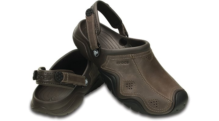Crocs-Mens-Swiftwater-Leather-Clog
