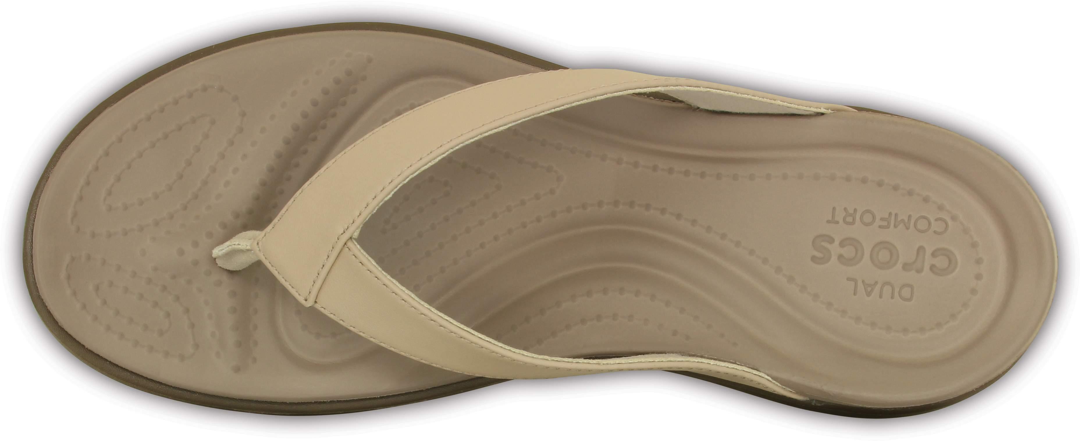 Crocs 202502 CAPRI V Ladies Womens Summer Beach Pool Toe Post Thongs Flip Flops