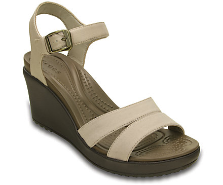 ab374709d048c6 Women s Leigh II Ankle Strap Wedge - Crocs