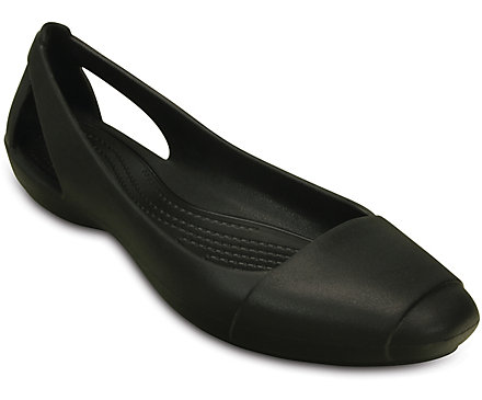 Crocs Sienna Flat Womens Shoes